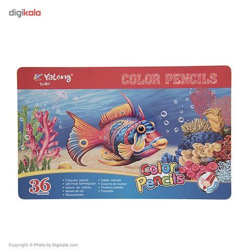 مداد رنگی 36 رنگ یالانگ