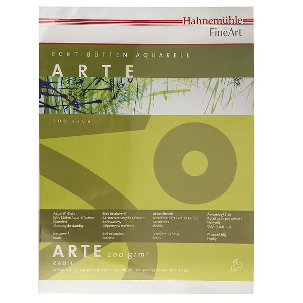 بوم آبرنگ دفترچهای هانه موله مدل Arte سایز 43 × 36 سانتیمتر 10 برگ