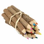 مداد رنگی 10 عددی مدل چوبی thumb