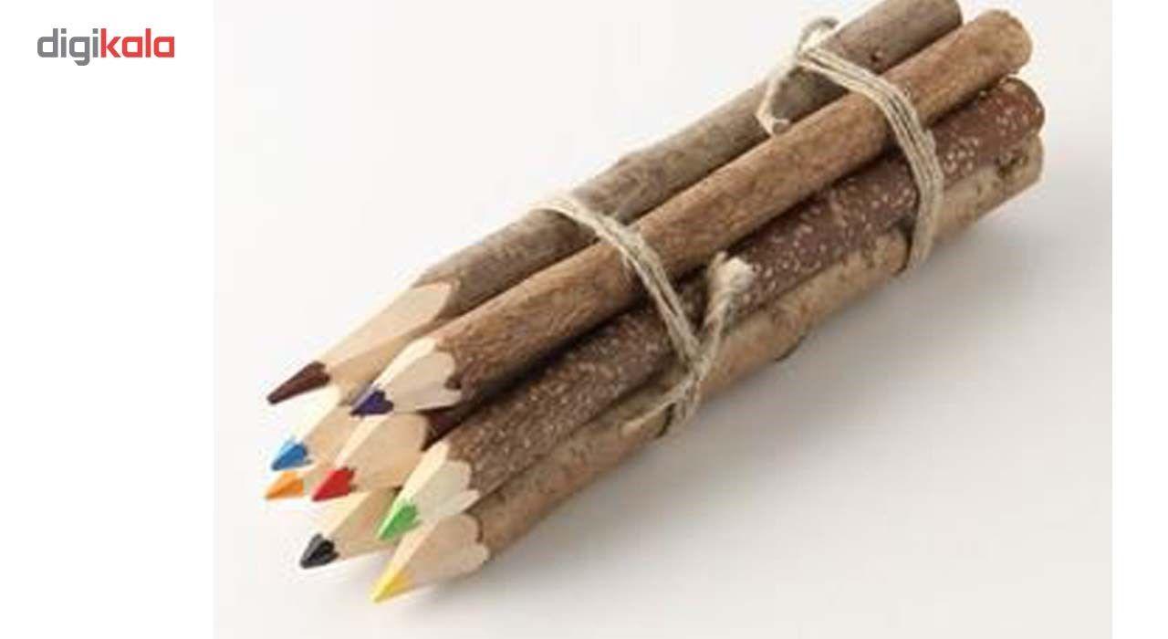 مداد رنگی 10 عددی مدل چوبی main 1 3