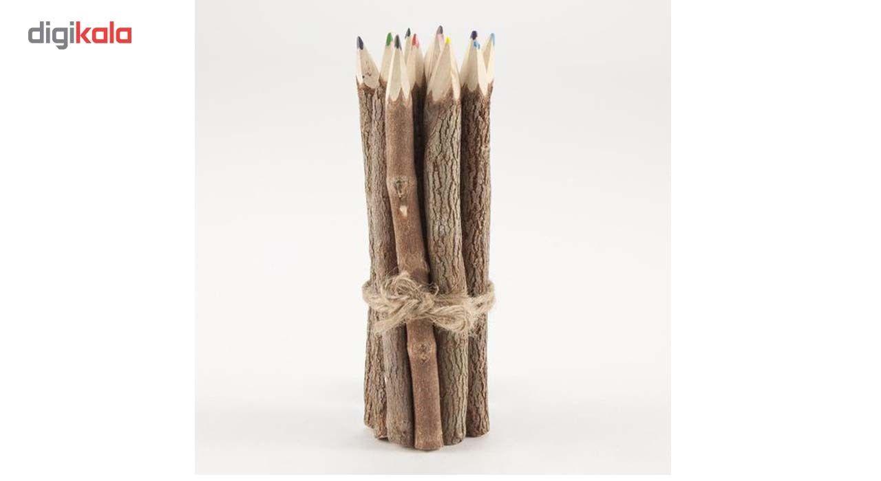 مداد رنگی 10 عددی مدل چوبی main 1 4
