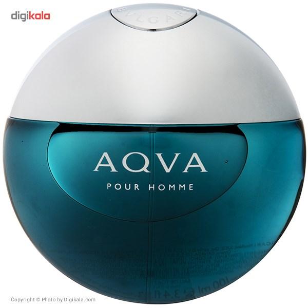 تستر ادو تویلت مردانه بولگاری مدل Aqva Pour Homme حجم 100 میلی لیتر main 1 1