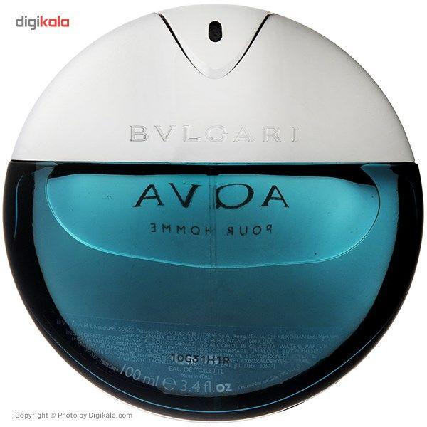 تستر ادو تویلت مردانه بولگاری مدل Aqva Pour Homme حجم 100 میلی لیتر main 1 2