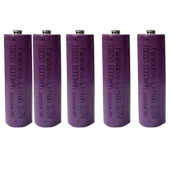 بررسی و {خرید با تخفیف}                                     باتری لیتیوم-یون قابل شارژ پاناسونیک  مدل P-004 ظرفیت 6000 میلی آمپر ساعت بسته 5 عددی                              اصل