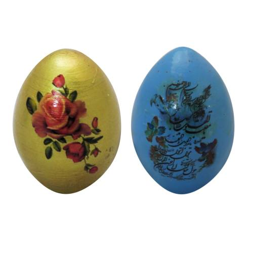 تخم مرغ تزیینی هفت سین آرت گالری مدل A3091 بسته 2عددی