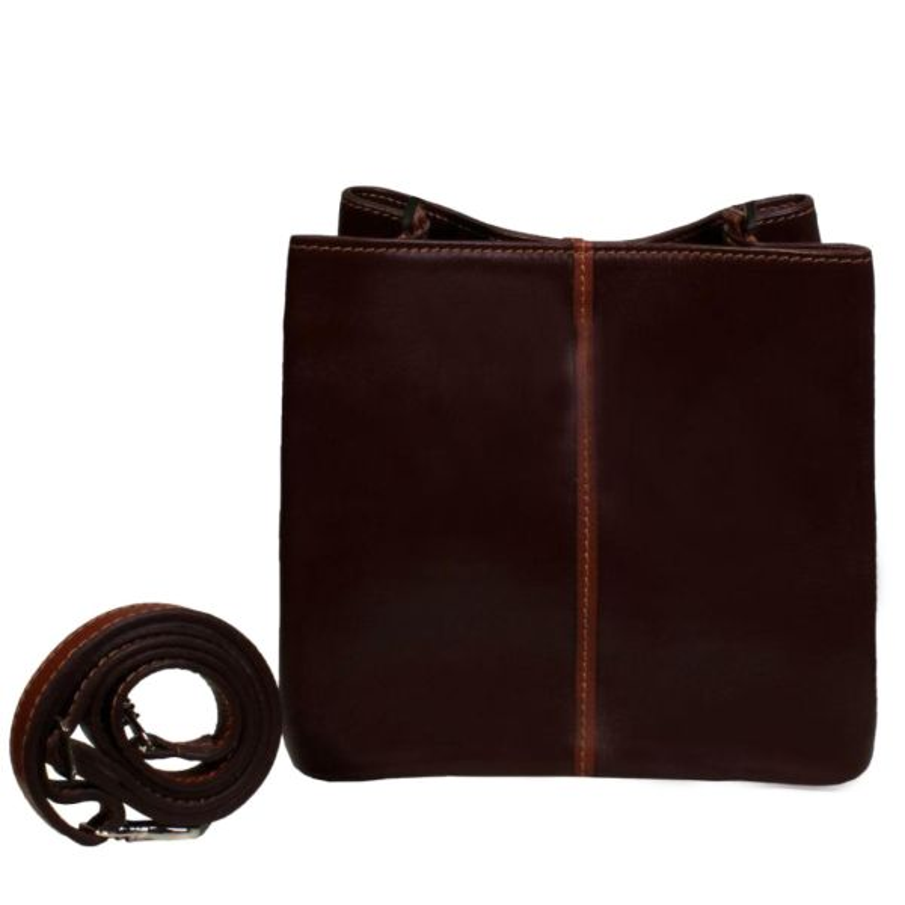 کیف دستی چرم طبیعی زنانه چرم ناب کد 201