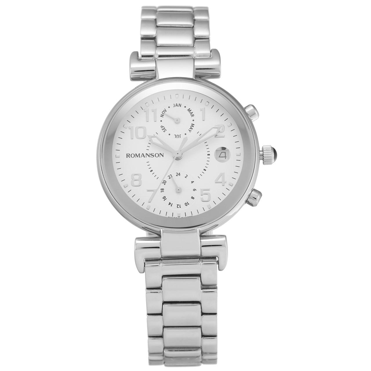 ساعت مچی عقربه ای زنانه رومانسون مدل RM4211FL1WA12W