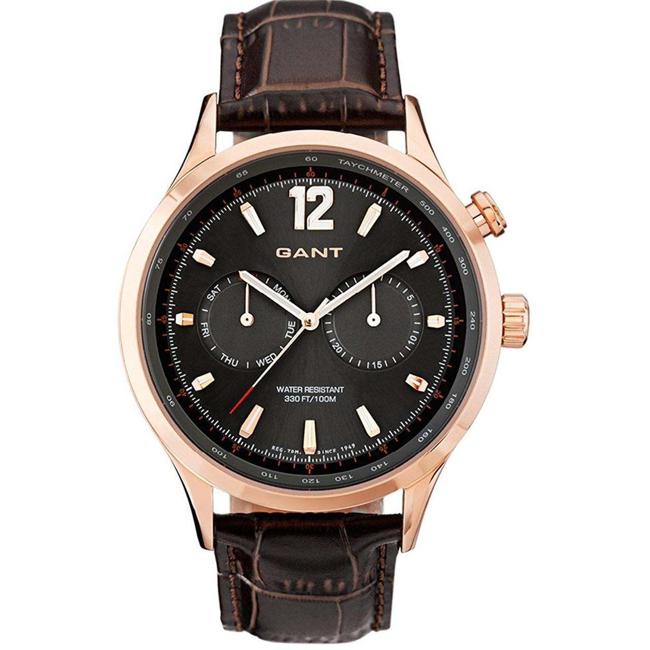 ساعت مچی عقربه ای مردانه گنت مدل GW70614