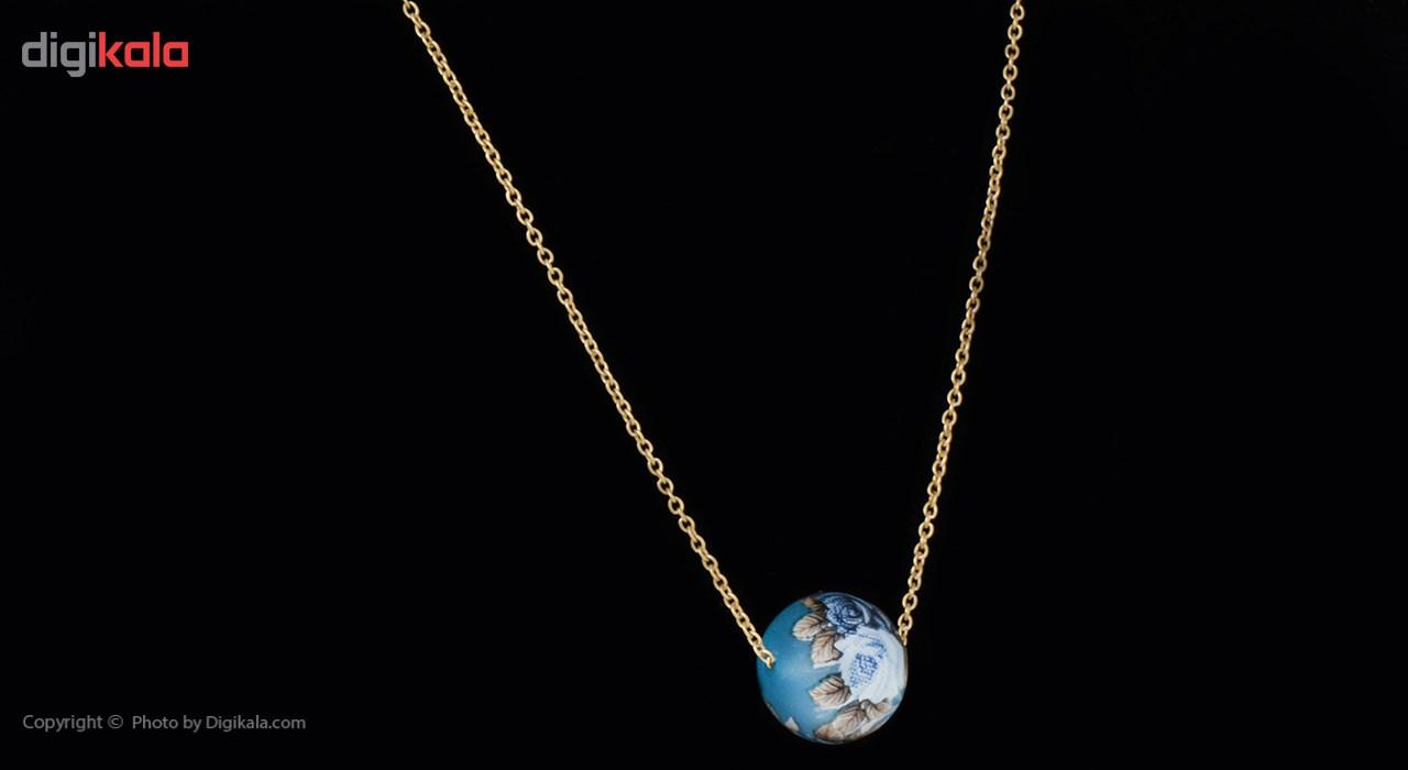 گردنبند طلا 18 عیار ماهک مدل MM0400 - مایا ماهک