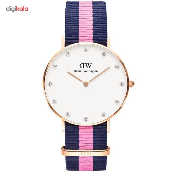 ساعت مچی عقربه ای زنانه دنیل ولینگتون مدل DW00100077