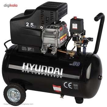 تصویر کمپرسور هوای هیوندای مدل AC-5025 Hyundai AC-5025 Air Compressor