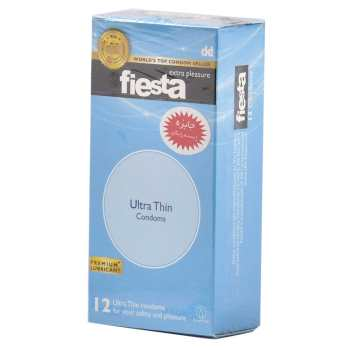 کاندوم نازک فیستا مدل Ultra Thin بسته 12 عددی