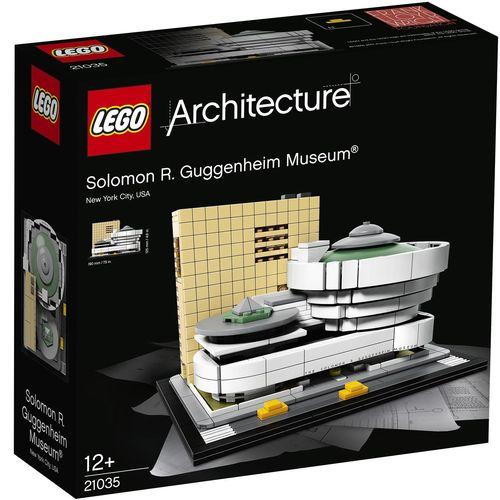 لگو سری Architecture مدل Solomon R Guggenheim Museum 21035