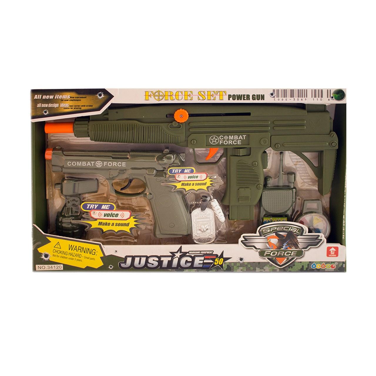 اسباب بازی ست نظامی مدل Combat Force