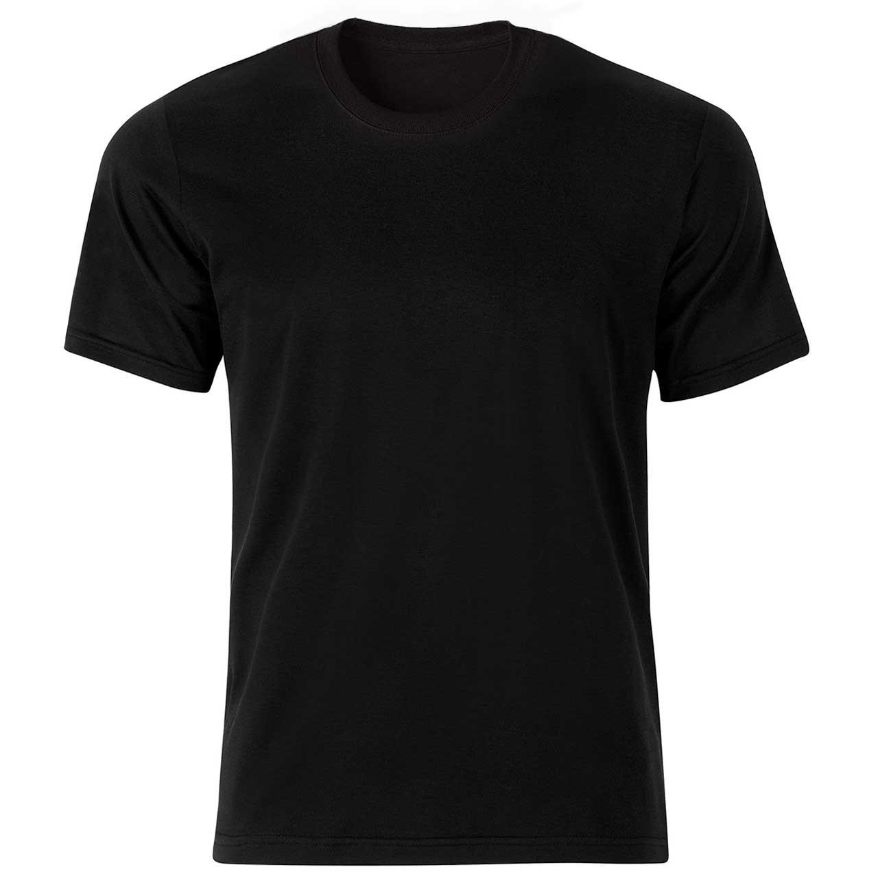 تی شرت مشکی نخی پارس