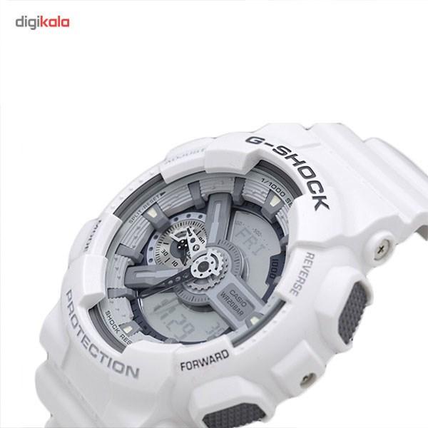 خرید ساعت مچی عقربه ای مردانه کاسیو مدل GA-110C-7ADR
