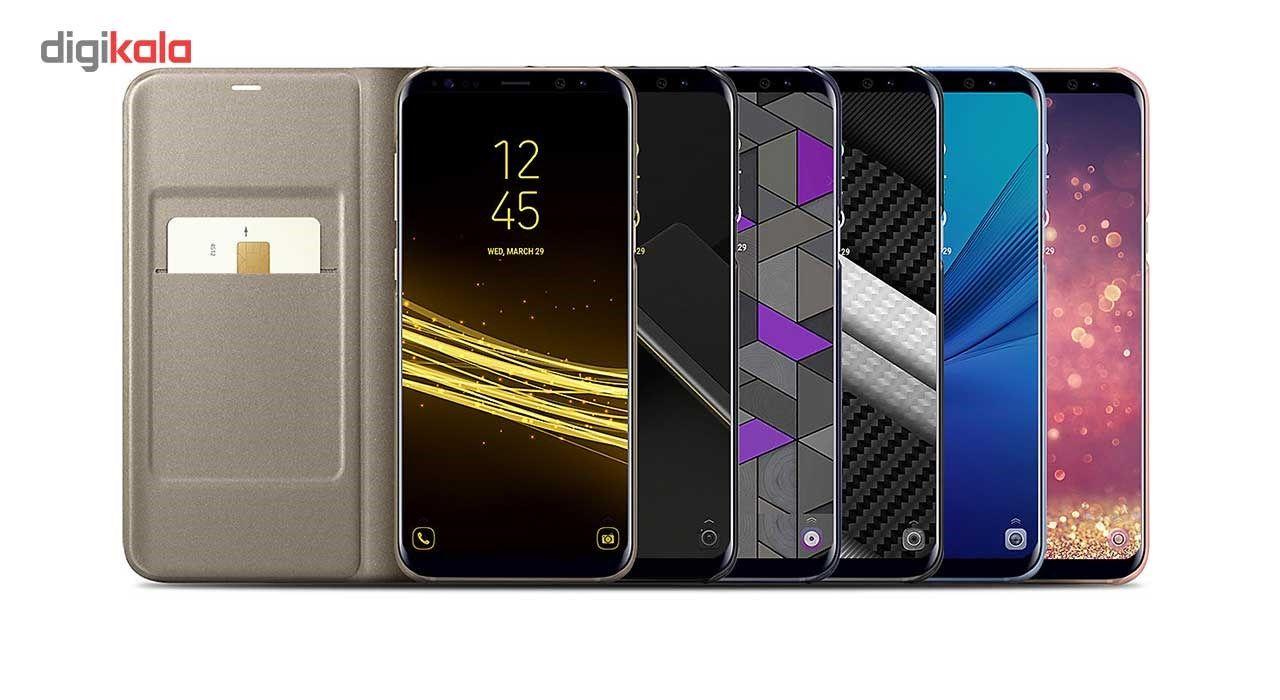 کیف کلاسوری سامسونگ مدل LED View مناسب برای گوشی موبایل Galaxy S8 Plus main 1 1
