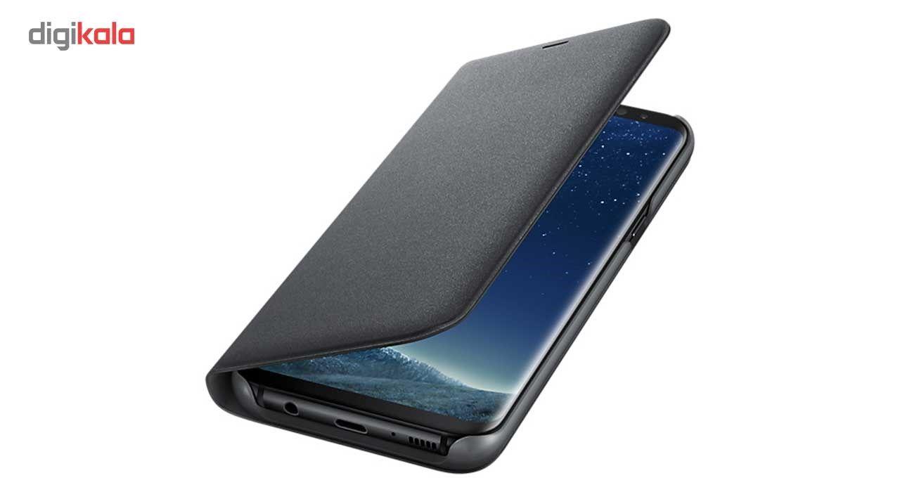 کیف کلاسوری سامسونگ مدل LED View مناسب برای گوشی موبایل Galaxy S8 Plus main 1 3