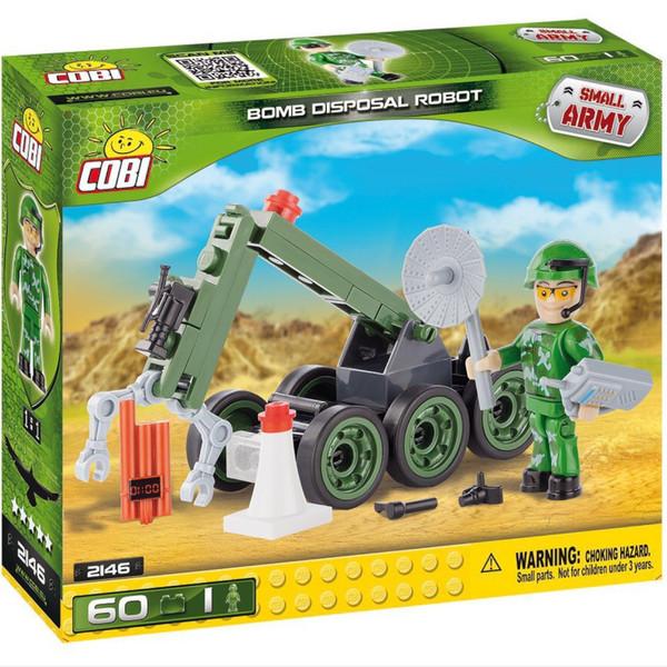لگو کوبی مدل smallarmy-bomb disposal robot