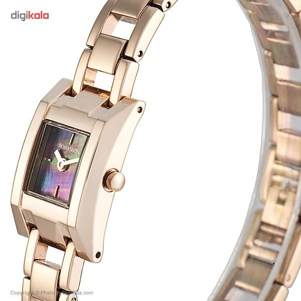 ساعت مچی عقربه ای زنانه رومانسون مدل RM9241LL1RM36R