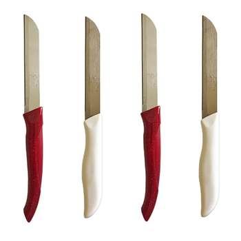 چاقو آشپزخانه مدل CHR002 بسته 4 عددی