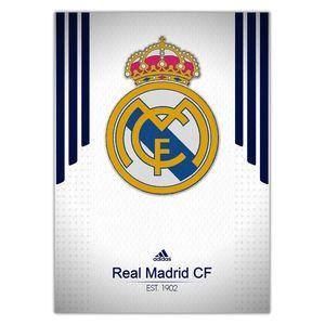 تابلوی ونسونی طرح Real Madrid White 2016 سایز 50x70