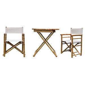 میز و صندلی فضای باز دیزوم مدل Bambu
