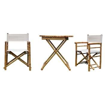 مشخصات، قیمت و خرید میز و صندلی فضای باز دیزوم مدل bambu