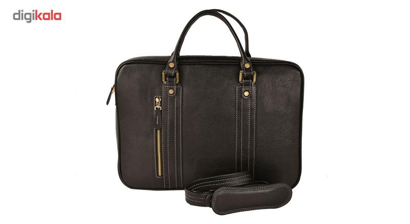 کیف اداری چرم طبیعی کهن چرم مدل L115