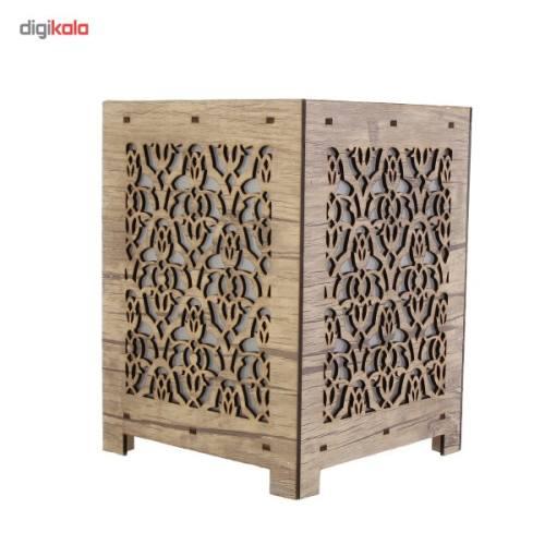 آباژور چوبی گالری آناهید طرح آریسان سایز کوچک کد 93021