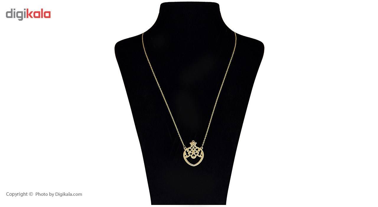 گردنبند طلا 18 عیار ماهک مدل MM0344 - مایا ماهک -  - 1