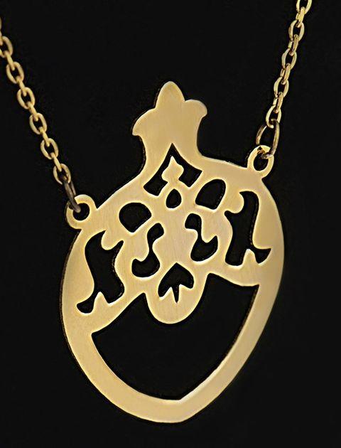 گردنبند طلا 18 عیار ماهک مدل MM0344 - مایا ماهک -  - 2