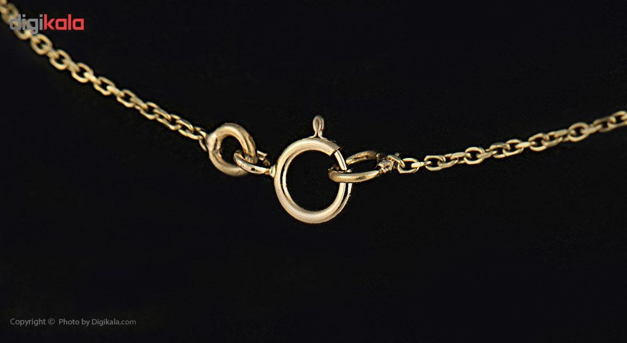 گردنبند طلا 18 عیار ماهک مدل MM0344 - مایا ماهک -  - 3