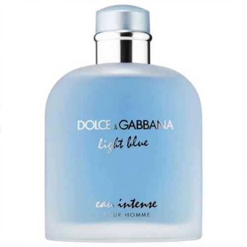 ادو پرفیوم مردانه دولچه گابانا مدل Light Blue Eau Intense Pour Homme حجم 100 میلی لیتر