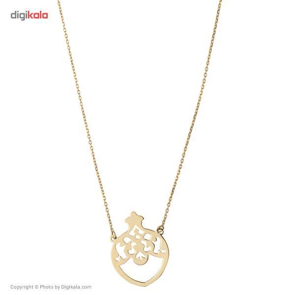 گردنبند طلا 18 عیار ماهک مدل MM0344 - مایا ماهک -  - 4