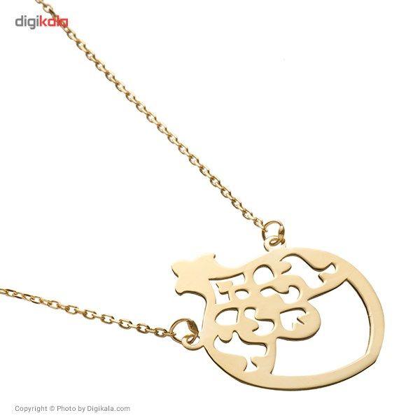 گردنبند طلا 18 عیار ماهک مدل MM0344 - مایا ماهک -  - 5