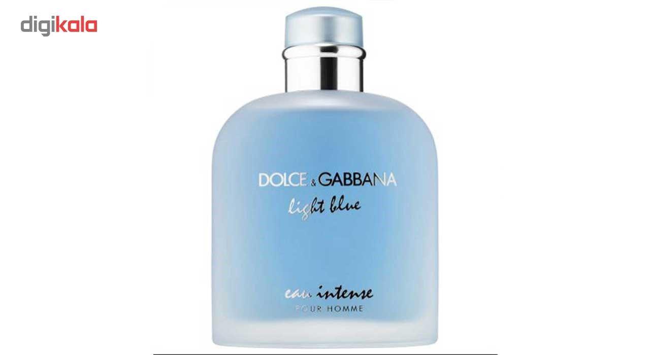 ادو پرفیوم مردانه دولچه گابانا مدل Light Blue Eau Intense Pour Homme حجم 100 میلی لیتر main 1 1