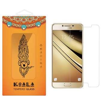 محافظ صفحه نمایش شیشه ای کوالا مدل Tempered مناسب برای گوشی موبایل سامسونگ Galaxy C5