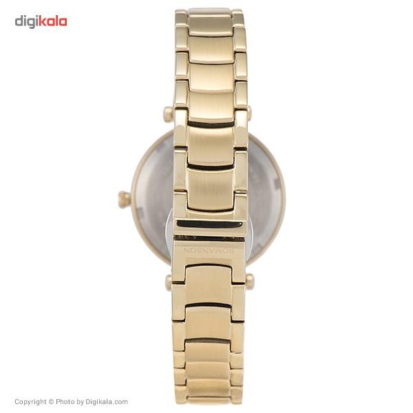 ساعت مچی عقربه ای زنانه رومانسون مدل RM6A03QLGGA8R1