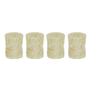 شمع مدل استوانه کد T4 مجموعه 4 عددی