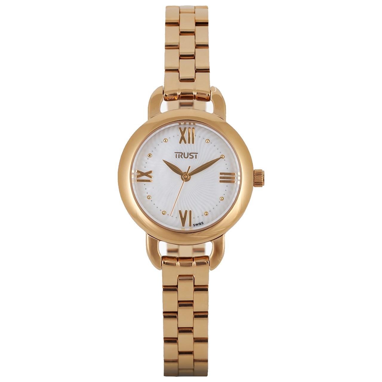 ساعت مچی عقربه ای زنانه تراست مدل L450BYK