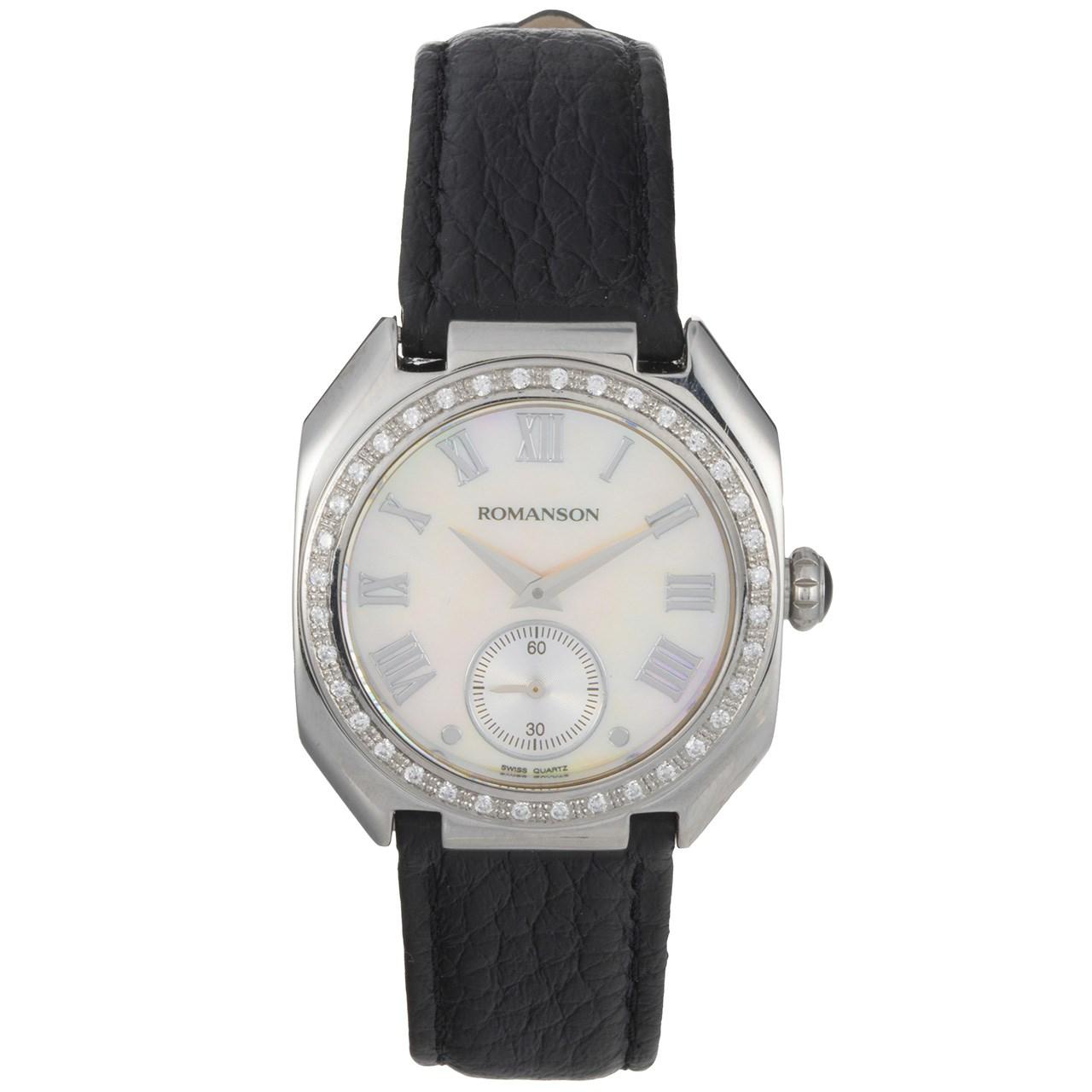 ساعت مچی عقربه ای زنانه رومانسون مدل RL1208QL1WM12W -  - 1