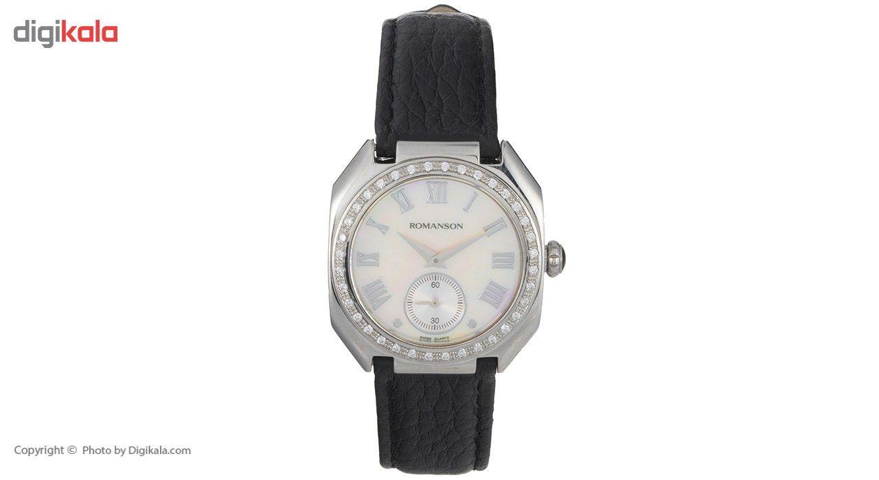 ساعت مچی عقربه ای زنانه رومانسون مدل RL1208QL1WM12W -  - 2