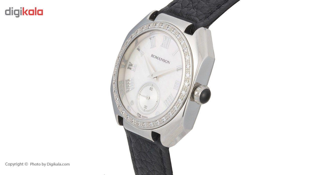 ساعت مچی عقربه ای زنانه رومانسون مدل RL1208QL1WM12W -  - 3