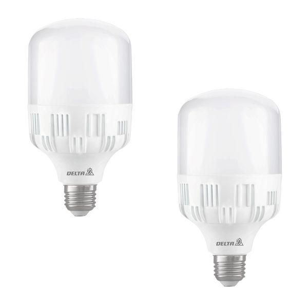 لامپ ال ای دی 20 وات دلتا مدل اطلس پایه E27  بسته 2 عددی