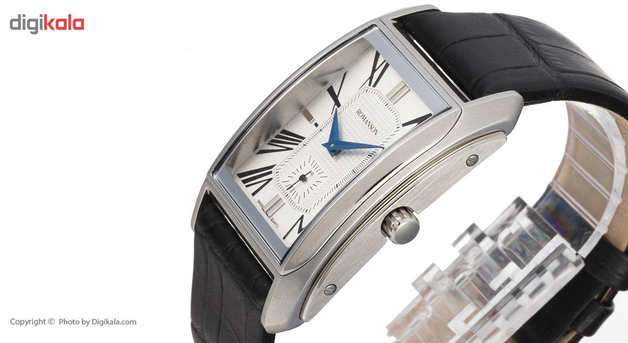 ساعت مچی عقربه ای مردانه رومانسون مدل TL2629JM1WAS2U -  - 4