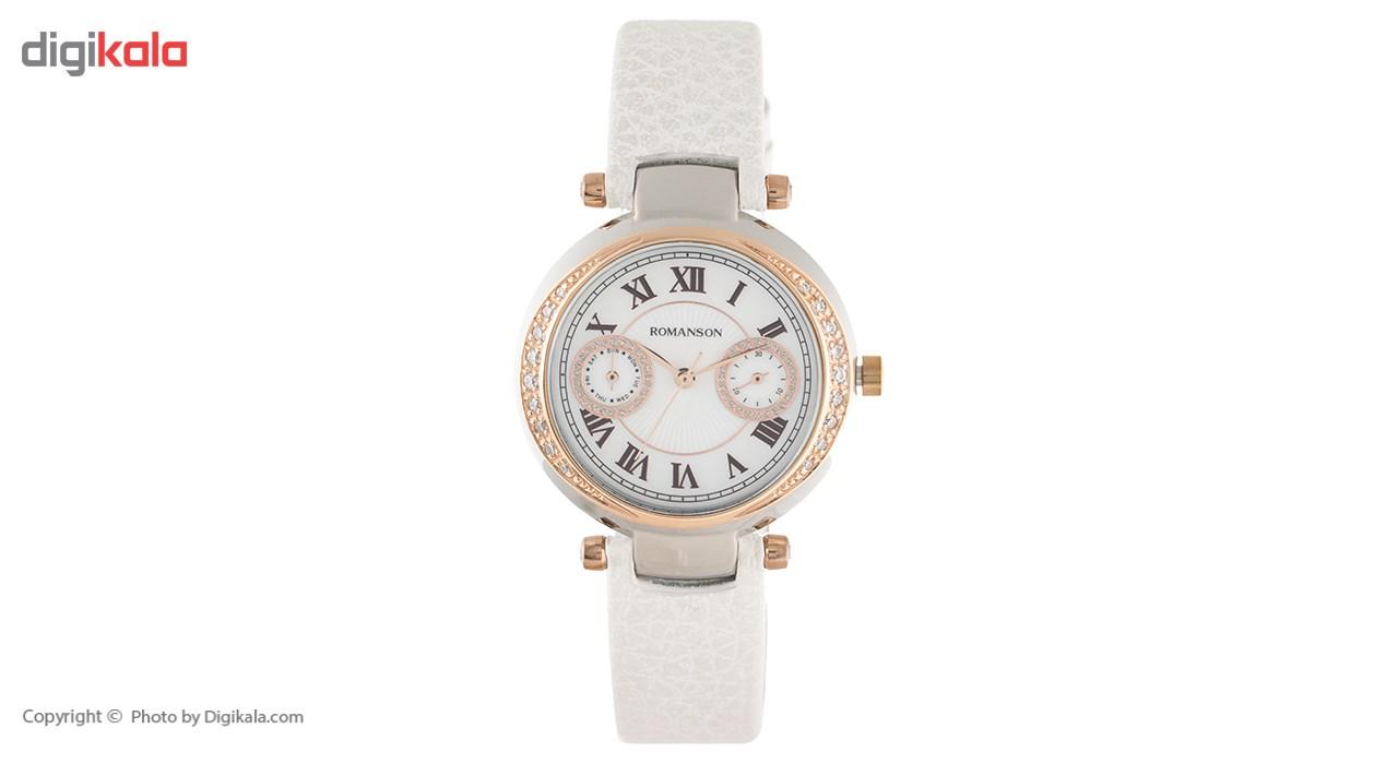 ساعت زنانه برند رومانسون مدل RL6A18QLWJM1C4
