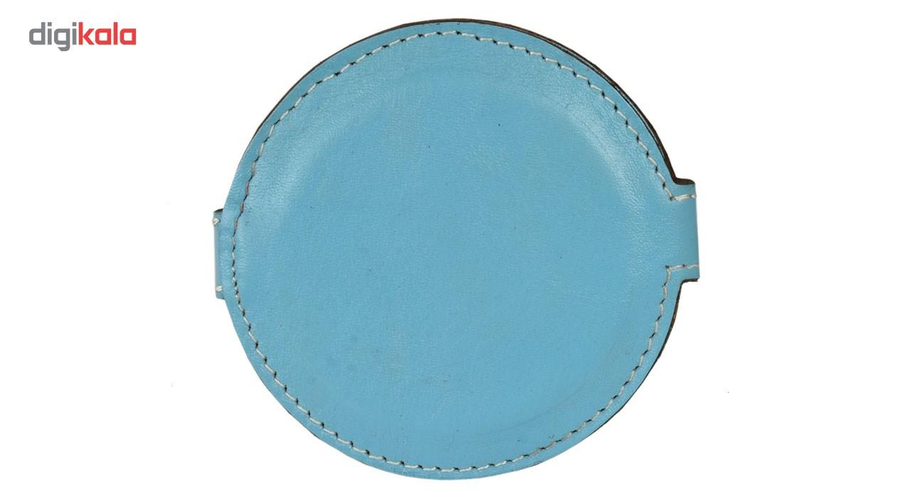 آینه کهن چرم مدل Lm6-6