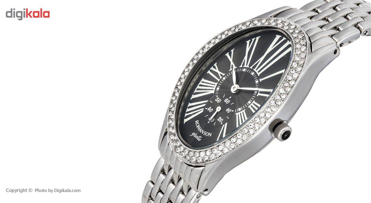 ساعت مچی عقربه ای زنانه رومانسون مدل RM9904TL1WA37W -  - 4