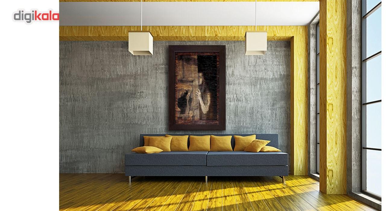 خرید                      تابلو نقاشی  سیتابلو  مدل Tn26 نیم برجسته